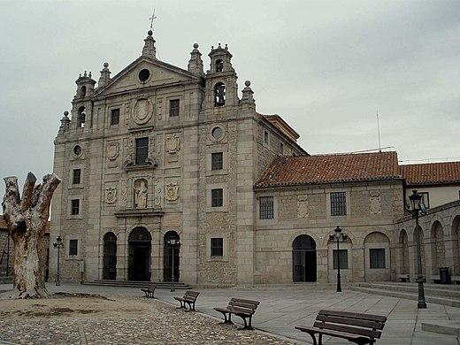 Avila - Convento de Santa Teresa 01.jpg