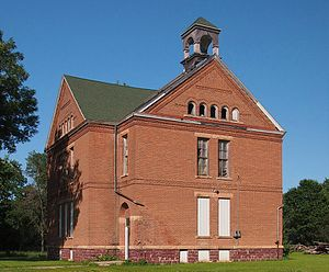 National Register of Historic Places listings in Murray County, Minnesota - Image: Avoca Public School