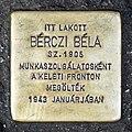 Bérczi stolperstein Budapest05.jpg