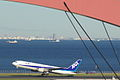 B767-300 take off (Tokyo international airport RWY 34R) (263056525).jpg
