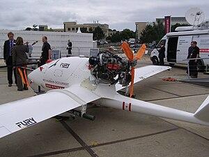 BAE Systems HERTI - Fury at Farnborough 2008