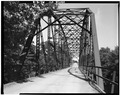 BARREL VIEW. CLOSEUP LOOKING WEST. - Hemlock Bridge, Spanning Black River on Warner Drive, Greenwood, Clark County, WI HAER WIS,10-WARNT,1-4.tif