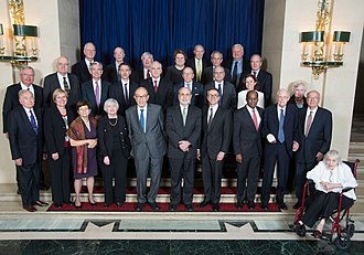 Federal Reserve Board of Governors - Current and living former Governors, 2013