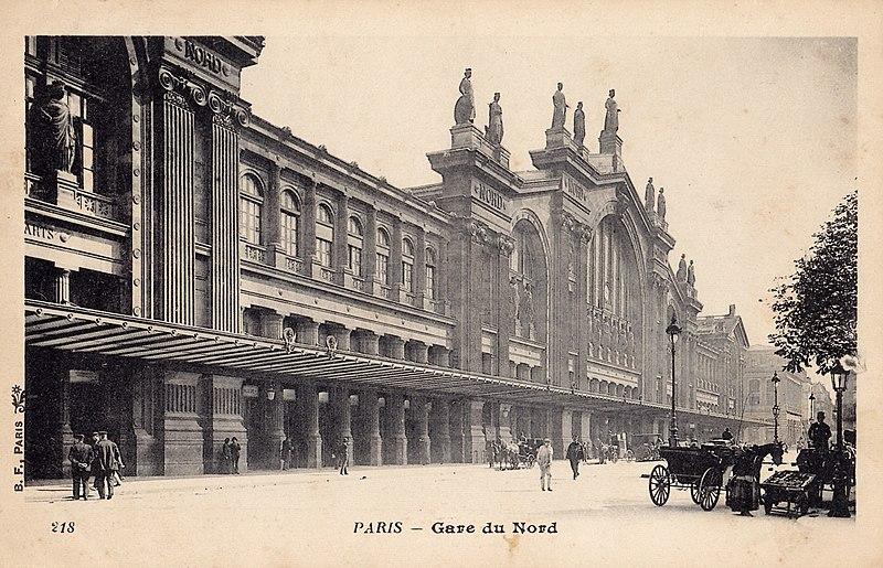 Fichier:BF 218 - PARIS -Gare du Nord.jpg