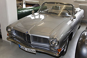 Herbert Quandt - The unique Cabriolet version of the BMW 3200 CS gifted to Herbert Quandt for his contribution in the rescue of BMW