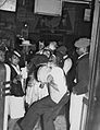 Baby Doll celebration a part of Mardi Gras in New Orleans Louisiana in 1942 Tambourine Bar.jpg