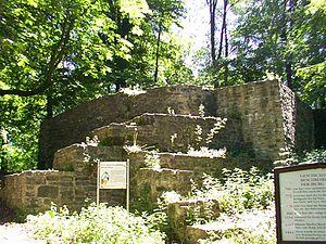 Bad Driburg - Iburg ruins