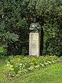 Bad Säckingen, Schlosspark - Scheffel-Büste 2012.JPG