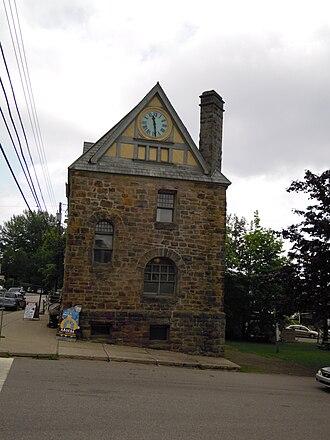 Baddeck - The Old Baddeck Post Office, designed by Thomas Fuller