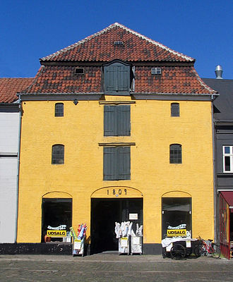 Listed buildings in Aarhus Municipality - Image: Badstuegade 1, Pustervig