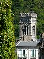 Bagnères-de-Luchon église clocher.JPG