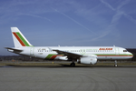 Balkan Bulgarian Airlines A320-200 LZ-ABA ZRH 1992-2-24.png