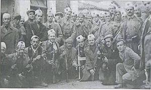 Debar - rBalli Kombëtar forces in Debar