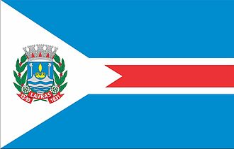 Lavras - Image: Bandeira lavras