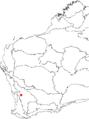 Banksia wonganensis map.png