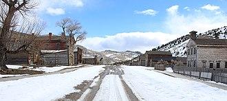 Bannack, Montana - Main street in Bannack