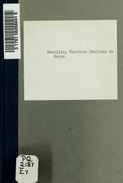 File:Banville - Ésope, 1893.djvu