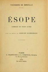 Théodore de Banville: Ésope
