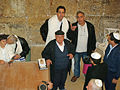 Bar Mitzvah in the Western Wall 2 tunnel by David Shankbone.jpg