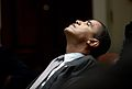Barack Obama reflecting Jan 2009.JPG