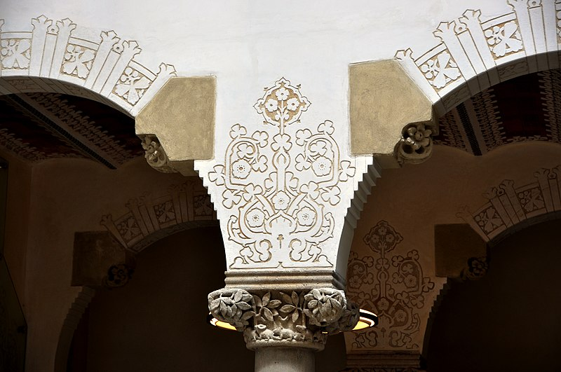 File:Barcelona (Passeig de Sant Joan). Macaya House (Casa Macaya). 1898-1901 Josep Puig i Cadafalch, architect (27703157401).jpg