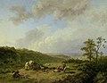 Barend Cornelis Koekkoek - Landschap bij opkomende regenbui.jpg