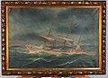 Bark Baron Holberg under 2 sviktende stumper - Larvik museum - LSJ.00907.jpg