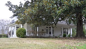 National Register of Historic Places listings in Lee County, Mississippi - Image: Barlow Burrow House, Lee County, Mississippi