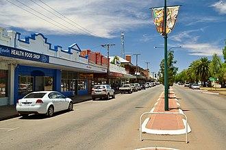 Merredin, Western Australia - Barrack Street, Merredin, 2013.