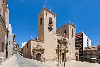 Basilica of Santa Maria, Alicante - Basilica of St Mary.