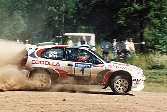 Neal Bates - Neal Bates and Coral Taylor (Rally Queensland 1998)