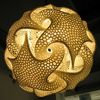 Mathematical sculpture - Mathematical sculpture by Bathsheba Grossman, 2007