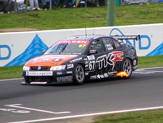 Paul Radisich - Radisich placed 14th in the 2005 V8 Supercar Championship Series