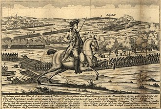 Upper Dublin Township, Montgomery County, Pennsylvania - Battle of Whitemarsh, in a German illustration.