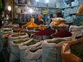 Bazar di Esfahan - venditore spezie.JPG