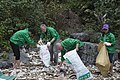 Beach Clean-up Day in Ha Long Bay (31867522770).jpg