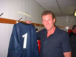 Wimbledon F.C. - Cup-winning captain and goalkeeper Dave Beasant, pictured in 2003