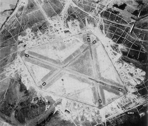 RAF Beaulieu - Beaulieu airfield on 4 March 1944, just after the 365th Fighter Group arrived.