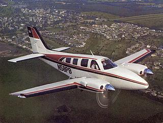 Beechcraft Baron Light, twin-engined piston aircraft produced 1961-present