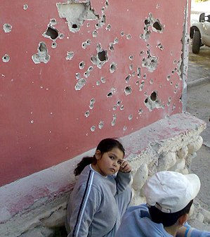 Children in the Israeli–Palestinian conflict - Image: Beersheba bombed 01