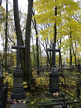 Belarus-Minsk-Military Cemetery-Graves of Bulaev Family.jpg