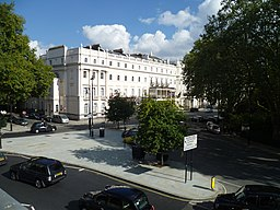 Belgrave Square from the Romanian Cultural Institute 02