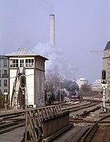 Belleville-Villette poste aiguillage nov 1983.jpg