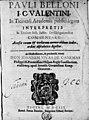 Belloni, Paolo – In titulum Institutionum Iustiniani De obligationibus commentarii, 1603 – BEIC 14126640.jpg