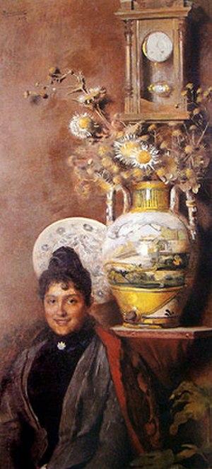 Belmiro de Almeida - Image: Belmiro de Almeida Vaso com flores, 1893