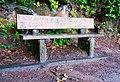 Bench beside the Lake Marie Trail in Umpqua Lighthouse State Park.jpg