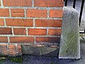 Benchmark on DWP's Telford House, The Park - geograph.org.uk - 2286953.jpg