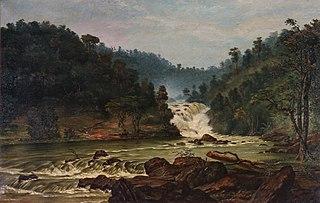 Waterfall on Sorocaba River