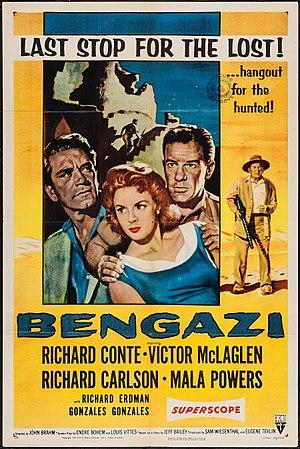 Bengazi (film) - Image: Bengazi (1955)