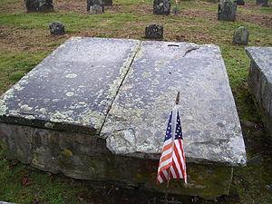Benjamin Church (ranger) - Benjamin Church grave in Little Compton Common in Rhode Island